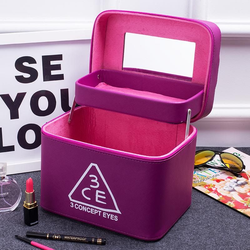 Túi mỹ phẩm 3CE 2 ngăn