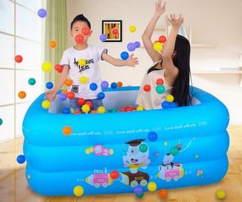 Phao bơi 3 tầng cho bé 1,5m