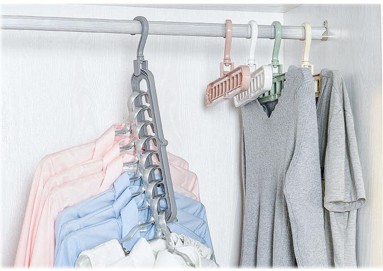 Móc quần áo đa chức năng