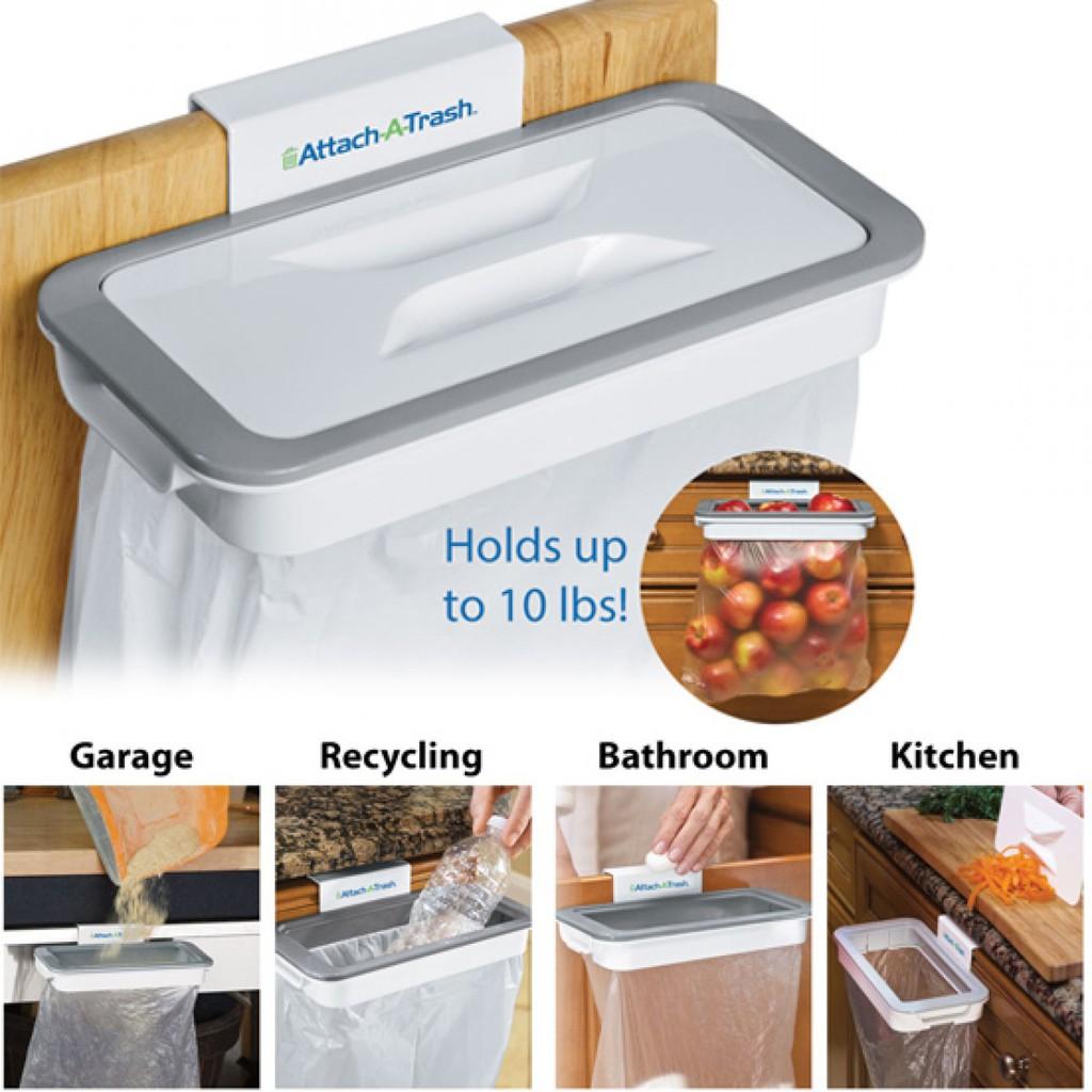 Giá treo túi đựng rác thông minh Attach A Trash