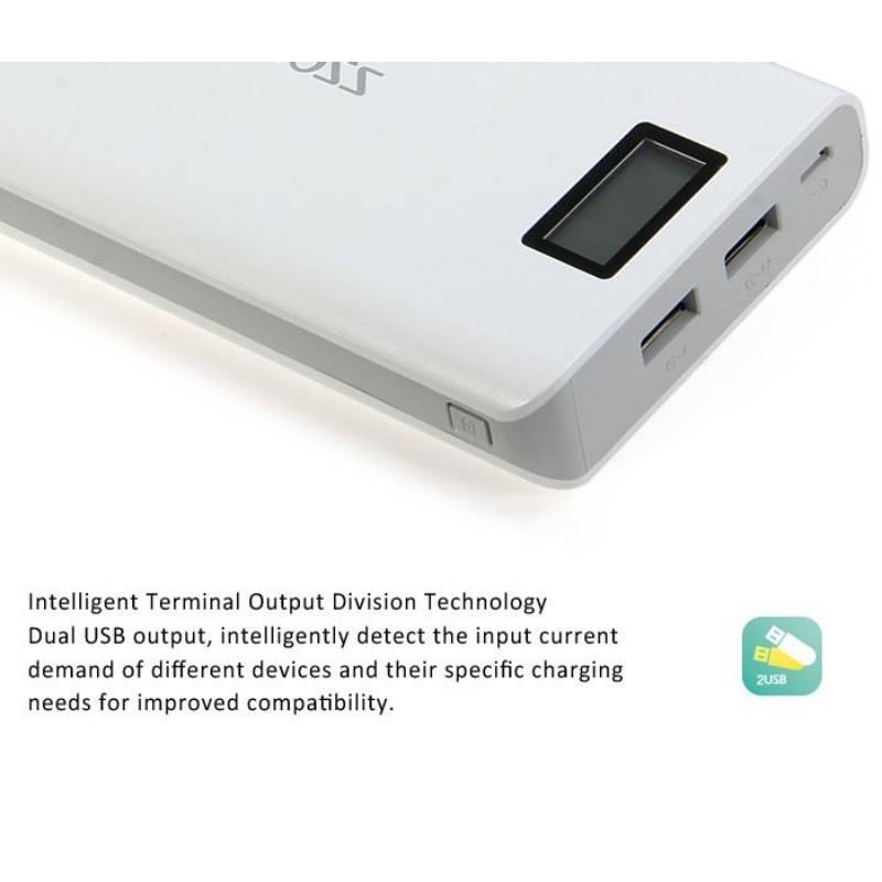 Pin sạc dự phòng Romoss Sense 6 Plus 20.000mAh có LCD chính hãng
