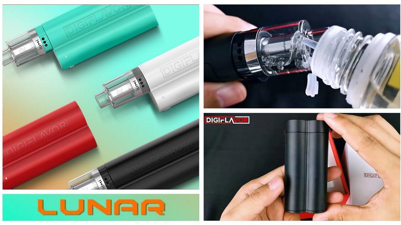 Thuốc lá điện tử Digiflavor Lunar Kit (máy dùng 2 pin rời 90w siêu khói)